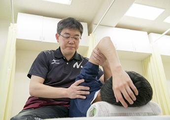柔道整復師×スポーツトレーナー