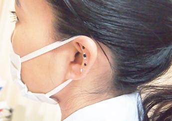美容鍼でキレイになろう!「耳つぼジュエリー体験」