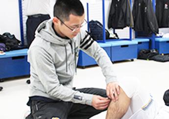 スポーツトレーナーとして活躍する鍼灸師