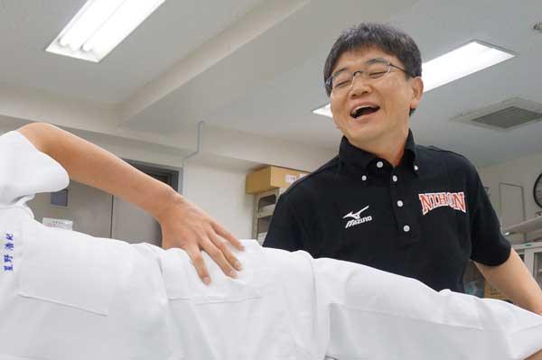 教員による柔道整復学科説明会