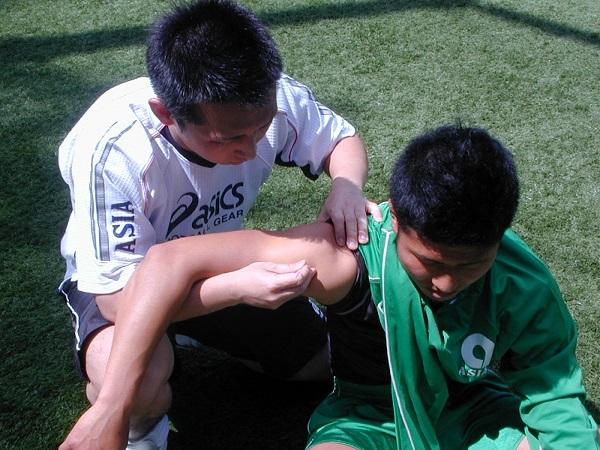 スポーツトレーナーとしての鍼灸治療