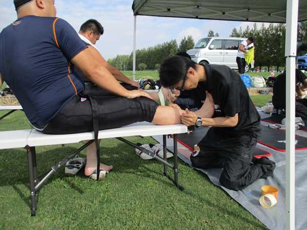 スポーツでのケガの応急処置法
