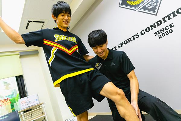スポーツトレーナーの仕事 <柔道整復師・鍼灸師>